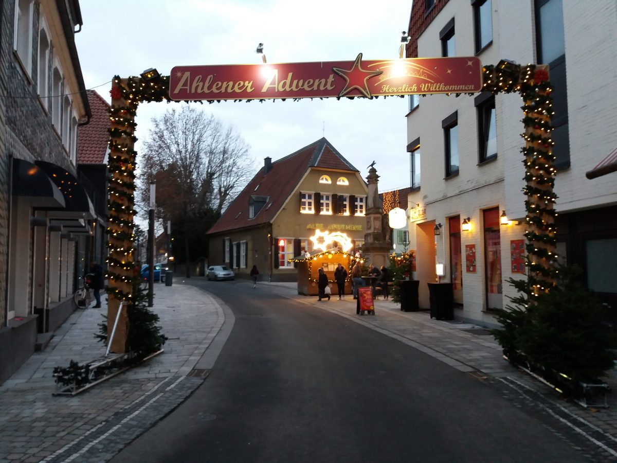 Ahlener Advent 2018