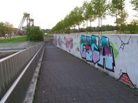 Graffitis Zeche Westfalen